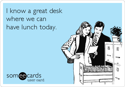 Great-desk-for-lunch